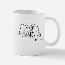 dalmation dog Small Small Mug