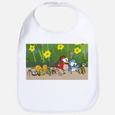 Garden Friends Bib
