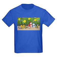 Garden Friends Kids Dark T-Shirt