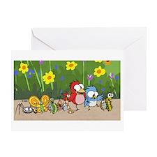 Garden Friends Greeting Card
