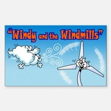 Windy & the Windmills Decal