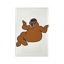 Walrus Rectangle Magnet