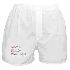 Mom's Simply Wonderful Boxer Shorts