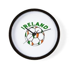 Irish Flag Football Wall Clock