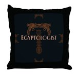 Egyptologist Throw Pillow