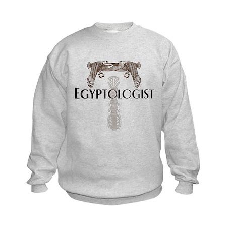 Egyptologist Kids Sweatshirt