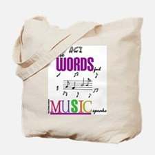 Cool Music theater Tote Bag