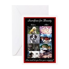 Sacrifices Greeting Card