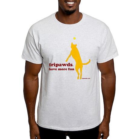 Tripawds Have More Fun Light T-Shirt