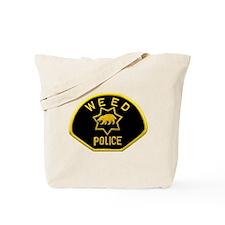 Weed Police Tote Bag