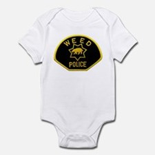 Weed Police Infant Bodysuit