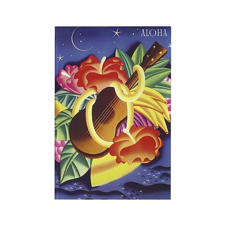 Frank Macintosh Aloha Rectangle Magnet