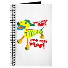 Three Legged Dogs More Fun Journal