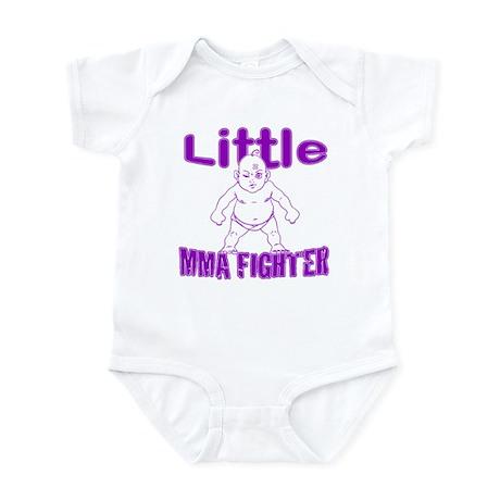 Little MMA Fighter - Bad Baby Infant Bodysuit
