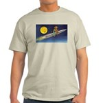 Space Travel of the 1950's Ash Grey T-Shirt