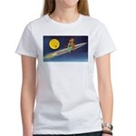 Space Travel of the 1950's Women's T-Shirt