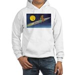 Space Travel of the 1950's Hooded Sweatshirt
