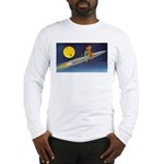 Space Travel of the 1950's Long Sleeve T-Shirt