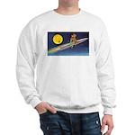 Space Travel of the 1950's Sweatshirt