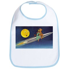 Space Travel of the 1950's Bib