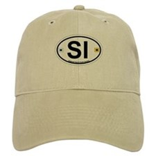 Seabrook Island SC - Oval Design Baseball Cap