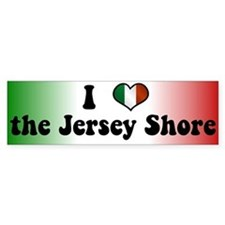 Jersey Shore Bumper Sticker