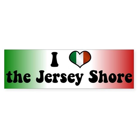 Jersey Shore Sticker (Bumper)