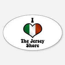 I Love the Jersey Shore Decal