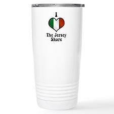 I Love the Jersey Shore Travel Mug
