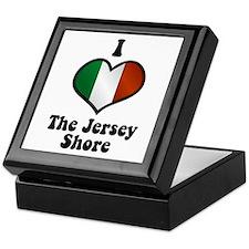 I Love the Jersey Shore Keepsake Box