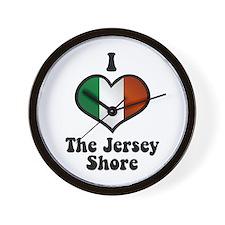 I Love the Jersey Shore Wall Clock