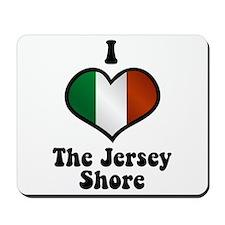 I Love the Jersey Shore Mousepad