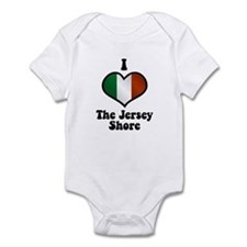 I Love the Jersey Shore Infant Bodysuit