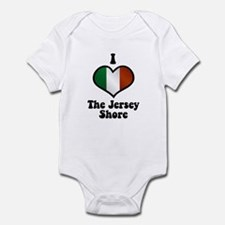I Love the Jersey Shore Infant Bodysuit
