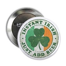 "Instant Irish [vintage] 2.25"" Button (100 pack)"
