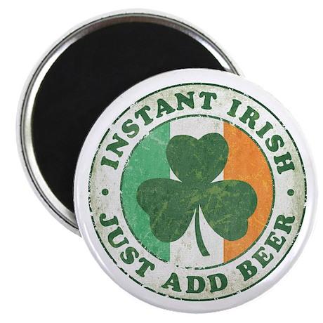 "Instant Irish [vintage] 2.25"" Magnet (100 pack)"