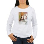 MAD HATTER'S TEA PARTY Women's Long Sleeve T-Shirt