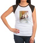 MAD HATTER'S TEA PARTY Women's Cap Sleeve T-Shirt