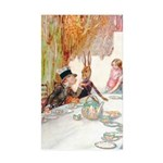 MAD HATTER'S TEA PARTY Sticker (Rectangle 10 pk)