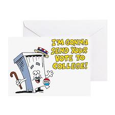 Vote Greeting Card