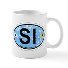 Seabrook Island SC - Oval Design Mug