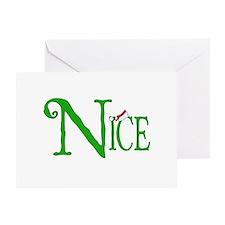 Nice for Christmas Greeting Card