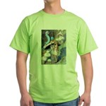 ADVICE FROM A CATERPILLAR Green T-Shirt