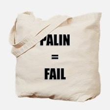PALIN = FAIL Tote Bag