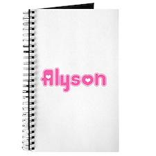 """""""Alyson"""" Journal"""