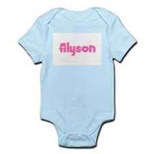 """Alyson"" Infant Creeper"