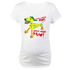 Three Legged Dogs More Fun Shirt