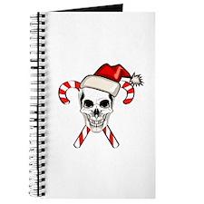 Christmas Skull Journal