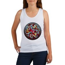 Celtic Deer Women's Tank Top