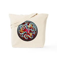 Celtic Deer Tote Bag
